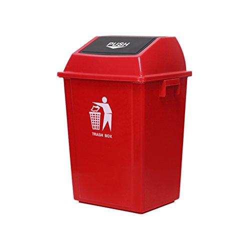Affordable WQEYMX Outdoor Trash can Large Trash can, Outdoor Trash can, Household flip Trash can Whe...