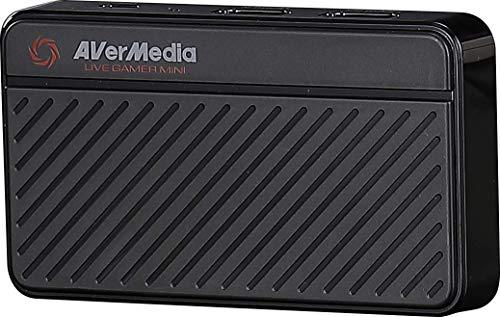 AVerMedia Live Gamer MINI ゲームキャプチャーボックス HDMIパススルー 1920x1080 (60fps) 録画対応 DV514...