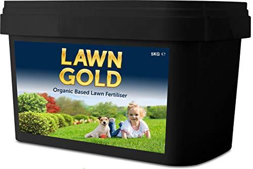 Lawn Gold Orangic Fertilizer & Moss 10kg Organic Based Lawn...