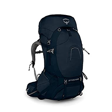 Osprey Packs Pack Atmos Ag 65 Backpack, Unity Blue, Medium