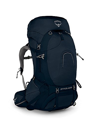 Osprey Packs Osprey Pack Atmos Ag 65 Backpack, Unity Blue, Large
