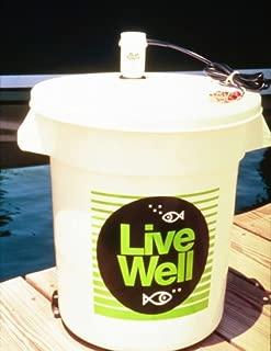Marine Metal Products Bait Saver® 10 Gallon Livewell w/pump & lid #PBC-10
