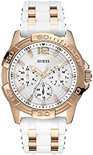Guess Sport Watch for Women, Silicone, Analog - W0615L1