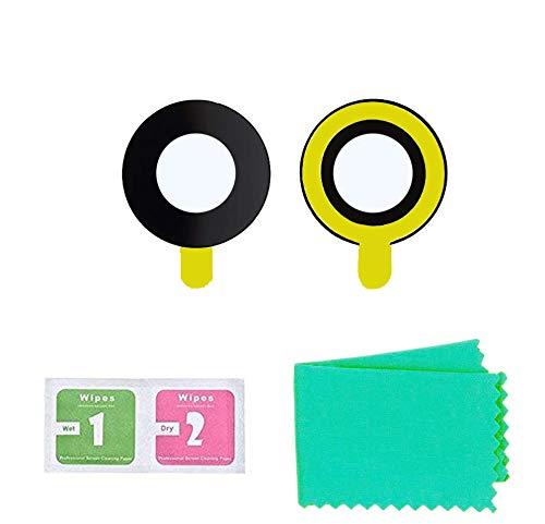 2 Pezzi Lente Glass Vetro Camera Posteriore di Ricambio Compatibile con iPhone 7, 8 con Adesivo Sostituzione Obiettivo