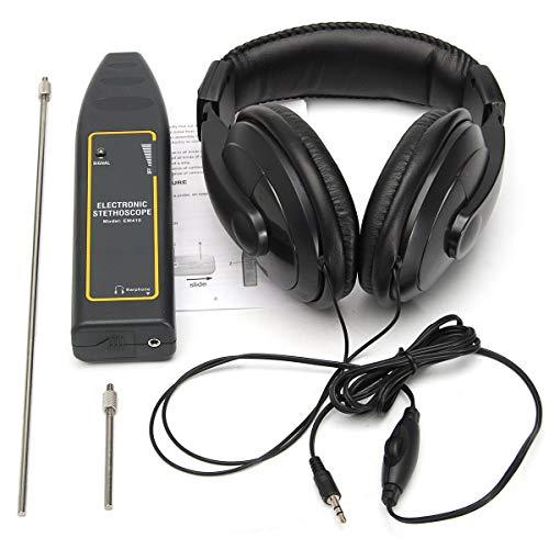 POEO Detector de Agua de Fugas, El Estetoscopio Electrónico, Medición Y Análisis de Instrumentos Otros Instrumentos - 1 X Estetoscopio Electrónico, 1 X Auriculares