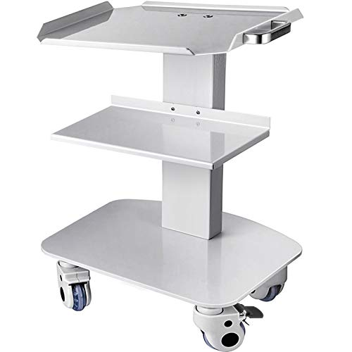 VEVOR 3-Layer Trolley Heavy Duty to Hold Max 33LB Medical Cart with Wheels to Move Everywhere