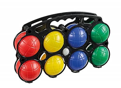 trendmile Premium Boccia Set 8 Bunte Kugeln Spiel mit Tasche