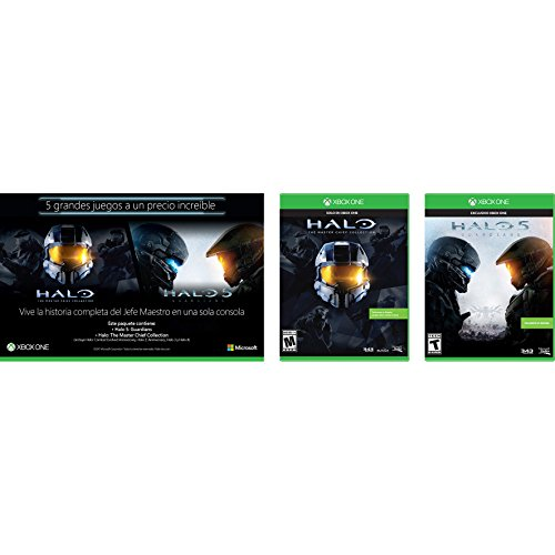 Bundle Two Pack Halo Collection: Halo 5 + Halo Master Chief – Xbox One – Bundle Edition