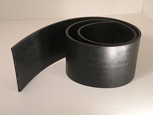 """PlowRubber.com Heavy Duty Replacement Rubber Snow Deflector 10"""" Wide X 8 Ft. Long"""