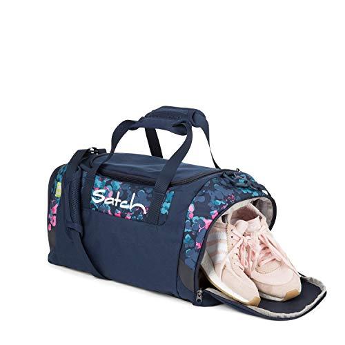 Satch Sporttasche Awesome Blossom, 25l, Schuhfach, gepolsterte Schultergurte, Mehrfarbig