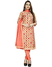 Latest Designer Cotton Moti Khatli Hand Work Salwar Suit With Banarasi dupatta for occassion and wedding party wear (Radha Krishna)