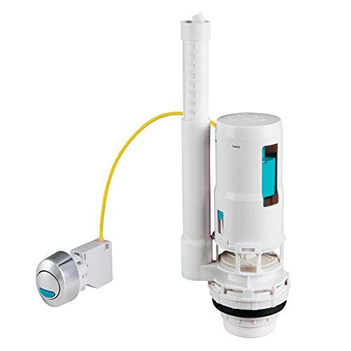BriTools M51001B - Mecanismo descarga cisterna, color blanco
