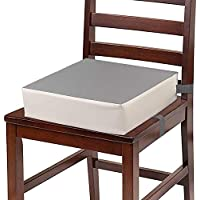 CAVWVTYU Toddler Booster Seat Table with Non-Slip Bottom & Safety Buckle