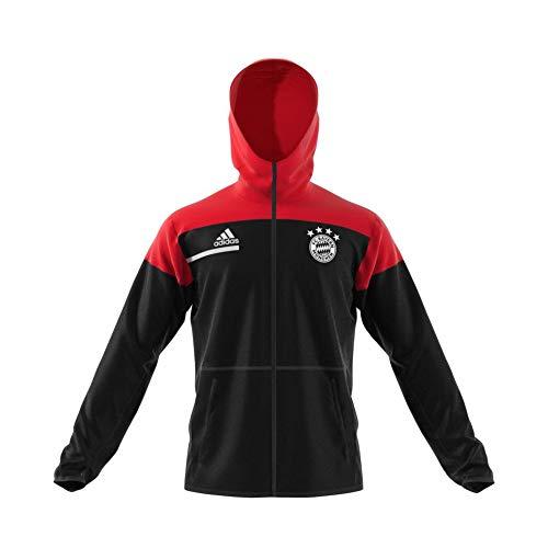 adidas Herren FC Bayern ZNE Anthem Jacket Fußballjacke, Black/Fcbtru, 2XL