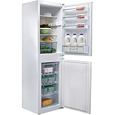 Bosch Serie 2 KIV32X23GB 54cm Wide 50-50 Integrated Upright Fridge Freezer - White