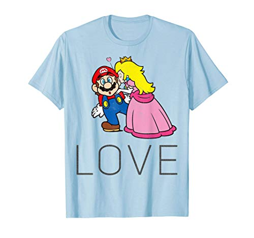 Super Mario Princess Peach in Love T-shirt for Adults or Kids