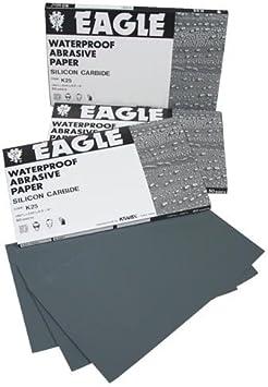 "10 pcs Hi Quality Abrasive Paper Eagle 800 Grit 9/"" x 11/"" Wet Dry Waterproof"