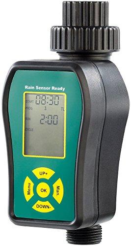 Royal Gardineer Bewässerungscomputer: Digitale Bewässerungsuhr für automatische Bewässerung (Zeitschaltuhr Gartenschlauch)