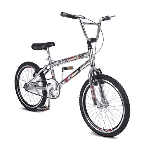 Bicicleta Aro 20 RBW Bikes BMX Cross Style Cromada