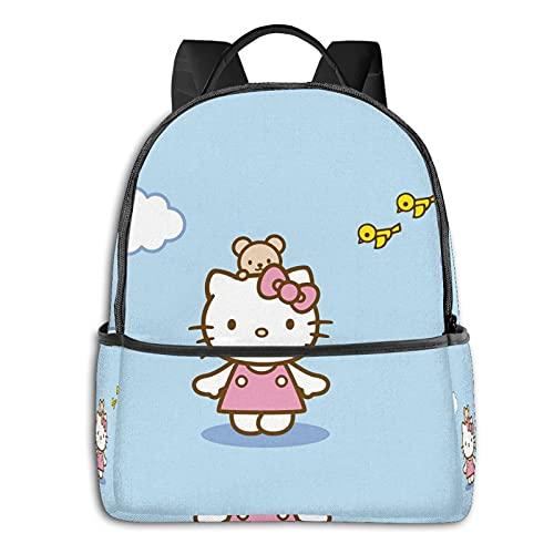 Hello Kitty - Mochila impermeable con diseño de cielo azul