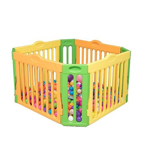 Parc à bébé, Plastique bébé avec 8 pièces Playpen Groupe d'activité, Centre d'activités for enfants Sécurité Accueil Jardin Jouer Intérieur Extérieur New Pen Toy