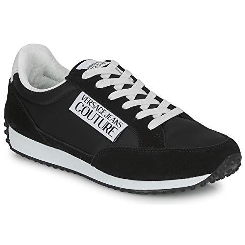 VERSACE JEANS COUTURE EOYVBSE3 Sneakers hommes Zwart Lage sneakers