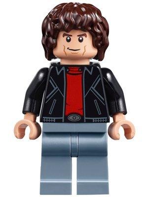 LEGO Michael Knight Minifigure - Juego de dimensiones divididas de Knight Rider