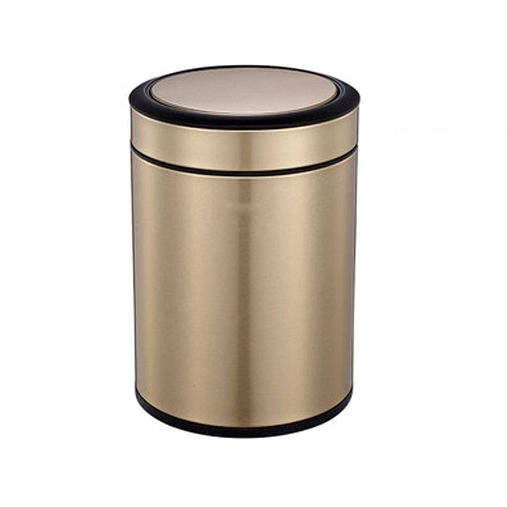 Tedyy Stainless Houston Mall Steel Trash CanTrash Super sale period limited Can Tras for with Shake Lid