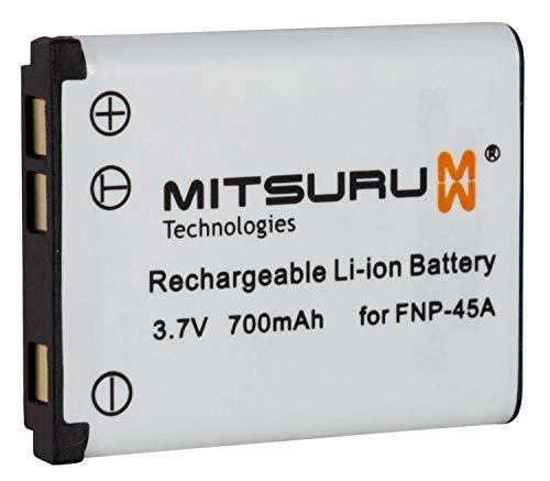 Mitsuru Akku Ersatz Kompatibel mit Fuji Fujifilm NP45 NP-45 NP-45A NP-45B Medion NP-45, passend zu Fuji Fujifilm Finepix JX205 JX250 JX280 JX300 JX350 JX355 JX370 JX375 JX400 JX405