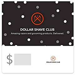 Valid only at dollarshaveclub.com. Redemption: Online only No returns and no refunds on gift cards.