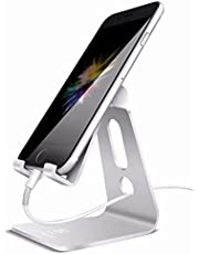 Lomicall スマホ スタンド ホルダー 角度調整可能, 携帯電話卓上スタンド : 卓上 充電スタンド,Lomicall スマホ スタンド ホルダー 角度調整可能, 横, 縦, 携帯電話卓上スタンド : 卓上 充電スタンド, スマフォスタンド, アイフォンデスク置き台, Nintendo Switch 対応, アイフォン, アンドロイド, iPhone XS XS Max XR X 8 plus 7 7plus 6 6s 6plus 5 5s, Sony Xperia, Nexus, android対応