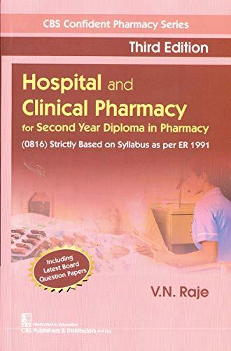 Hospital and Clinical Pharmacy (CBS Confident Pharmacy Series) (English Edition)
