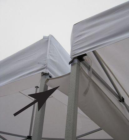 Rain Gutter Canopy Connection