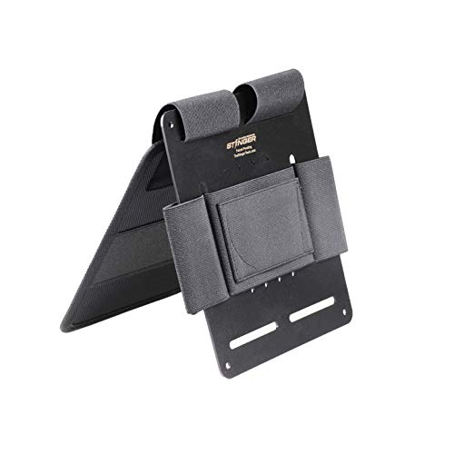 Tactical Bedside Holster, Bedside Backup, Bedside Pistol Holster, Bedside Handgun Holster, Mattress Holster, Magazine and Flashlight Loop, Under Desk, Couch, Vehicle Seat, In the Purse Gun Organizer
