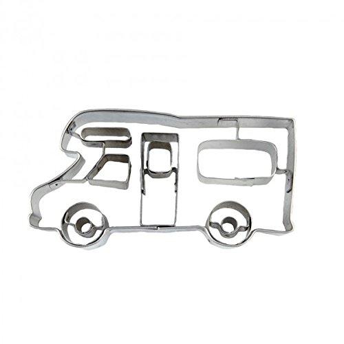 Städter Präge-Ausstecher Wohnmobil 7,5 cm Edelstahl, Silber, 8 cm