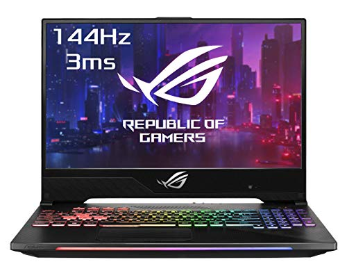 """Asus ROG HERO2-G515GV-ES017T PC Portable Gamer 15"""" Gris métal (Intel Core i7, RAM 16 Go, 1 to + SSD 256 Go, Nvidia GTX 2060 6 Go, Windows 10) Clavier AZERTY Français"""