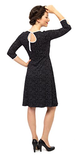 Viva la Mama I Umstandskleid festlich Stillkleid I Umstandsmode Schwangerschaft Damen I Schwangerschaftsmode Kleid Milla – schwarz - 2