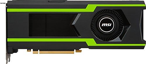 MSI GeForce GTX 1080TI Aero 11G OC Grafikkarte (Nvidia GDDR5X, HDMI, 3x DP, 2 Slot Afterburner OC, VR Ready, 4K-optimiert)