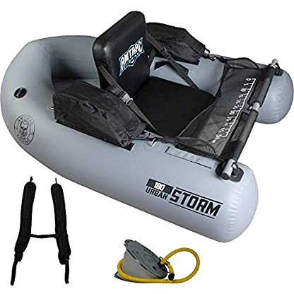 Graues Storm Belly Boot von Amtrac Fishing 180 cm kaufen