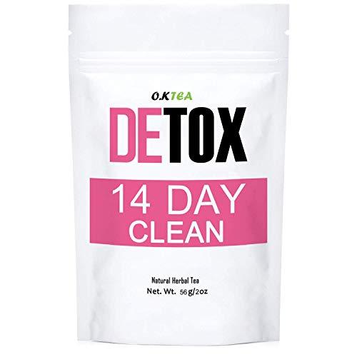 Detox Tea, O.K Tea 14 Day Slim Skinny Tea Body Detox Cleanse Diet Tea