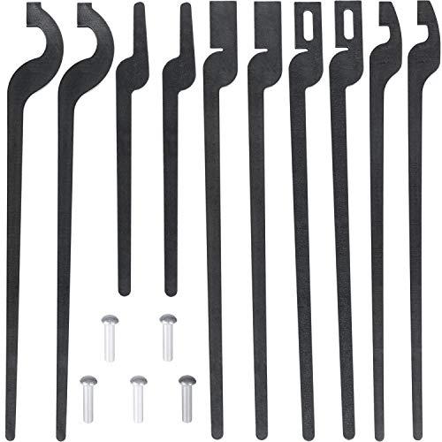 Yoursme DIY Rapid Tongs Bundle Set - Blacksmith Five types of Tongs Bundle Set Comes with Rivet