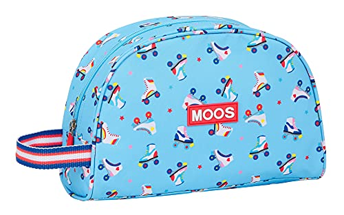 Safta Neceser Escolar Infantil Pequeño con Asa de Moos Rollers, 280x100x180 mm