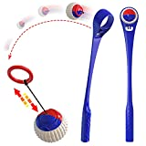 Chuck Toy Multifunction Sport Ball Launcher Dog Toys Easily Throw The Ball 400 FT (Blue)
