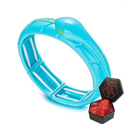 3dcrafter Schlangen-Armband für Marienkäfer-Kostüm mit Sechseck-Box für Mädchen und Frauen, Katze, Noir Cosplay