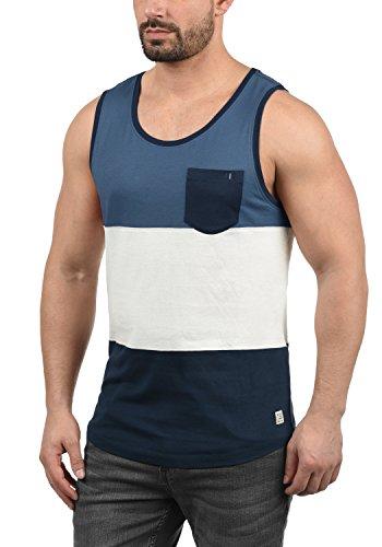 Blend Neo Herren Tank Top mit Rundhalsausschnitt und Brusttasche Regular Fit, Größe:XXL, Farbe:Navy (70230)