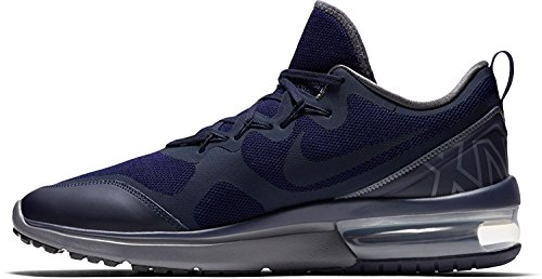 Nike Air MAX Fury, Zapatillas de Trail Running Hombre, Azul (Obsidian/Dark Grey/Deep Royal Blue 400), 47 EU