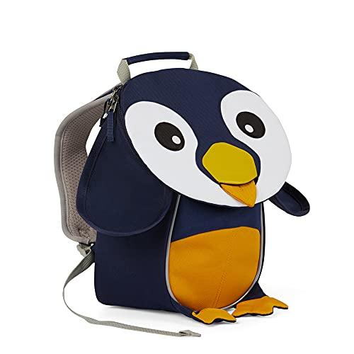 Affenzahn Little Freund - Mochila infantil (25 cm), Unisex niños, Mochila, AFZ-FAS-002-017, Pingüino – azul., talla única