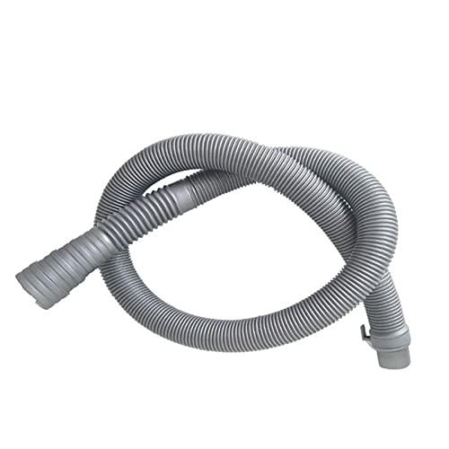 CHIBO Tubo Lavatrice, Home Lavatrice Drain Tubo Lavatrice Universale Lavastoviglie Drain Drein Tubo dei rifiuti a 32-42mm Prese di Scarico (Length : 1m)