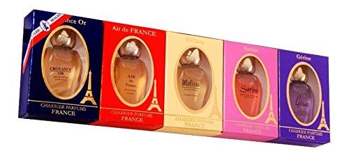 Charrier Parfums Pack Charrier Pack de 5estuches de agua de perfume