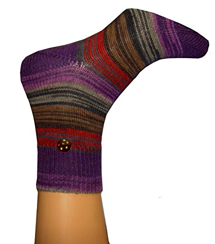 Handgestrickte Socken aus Lana Grossa Merino Gr. 39-40 - extra fein gestrickt